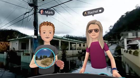 Facebook VR app